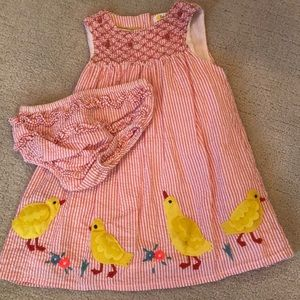 Baby Boden Smocked Dress 18-24 months